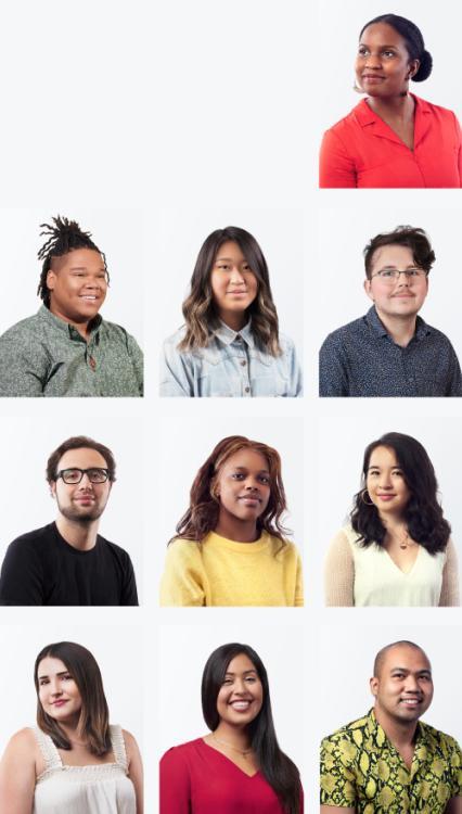 Collage der neuen Absolventen des Jahrgangs 2020
